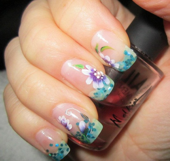 Floweriiish Design From Alexis Nail Art